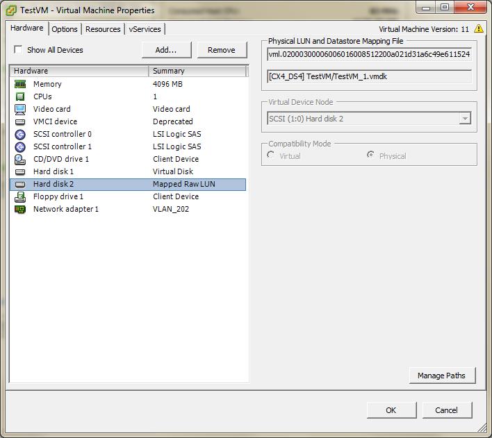 vMotion support – Microsoft Clustering on VMware vSphere 6