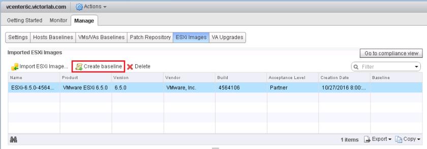 Upgrade ESXi 6 0 to 6 5 via VMware Update Manager – Victor