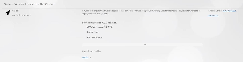 Demo – Upgrade to VxRail 4 0 – Victor Virtualization