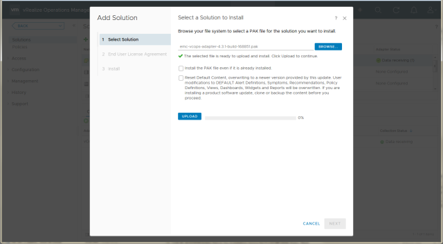 《Installation and configuration of EMC Storage Analytics 4.3 and VMware vRealize Operations Manager 6.6 (VMware + EMC Unity)》