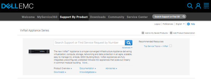 Demo – EMC VxRail software upgrade from v4 0 310 to v4 5 0 (Quanta