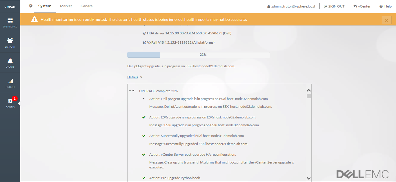 vCenter Server Options on VxRail Appliance – Victor Virtualization