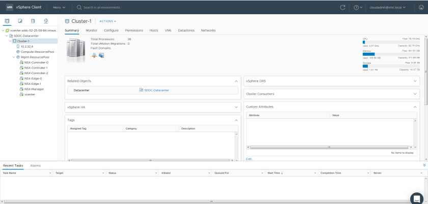 VMware Cloud on AWS – Victor Virtualization