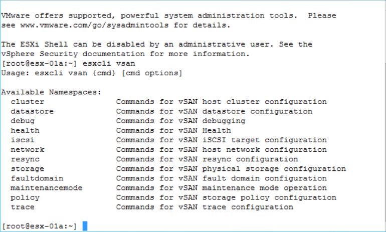 VMware vSAN CLI & PowerCLI vSAN Commands – Victor Virtualization