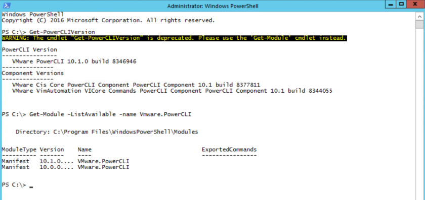 Powercli Get View